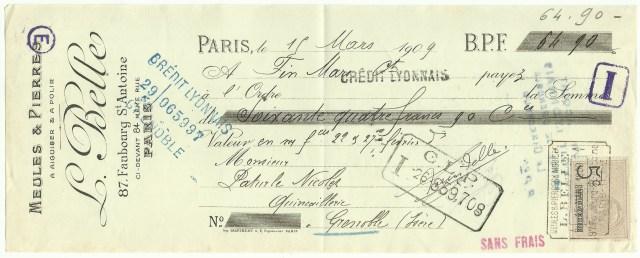 1909 L.Belle 1