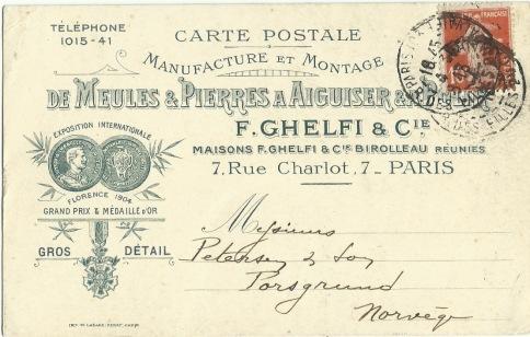 1913 F.Ghelfi & Cie & Birolleau