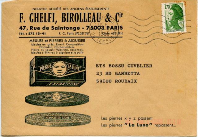 1985 Envelop F.G.B.C. - Sebastian