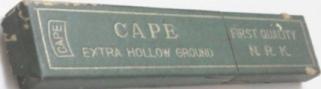 Cape, Nichiri 2c