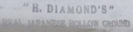 H. Diamond 884 1a1