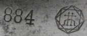 H. Diamond 884 1c