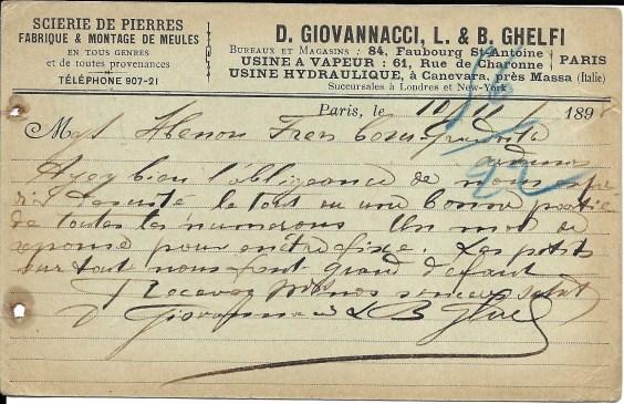1898 D.Giovannacci & L.B.Ghelfi 1a 1