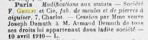 1910: 4 Mai Demuth