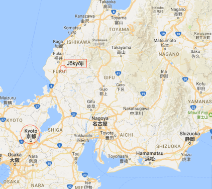 Jōkyōji map 1a