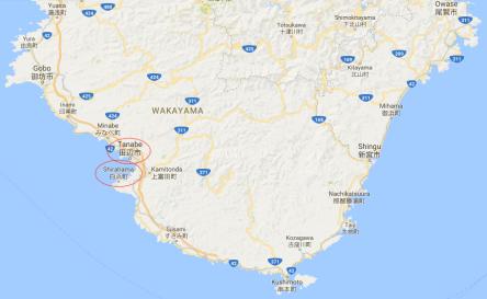 Kishū:Tomita to map 1b