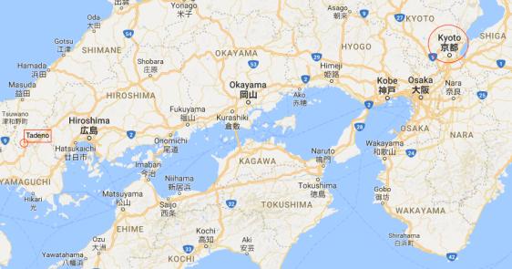 Tadeno map 1a