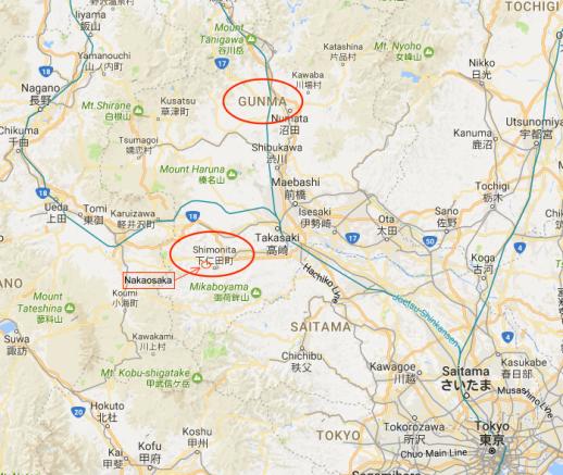 Ueno to map 1b