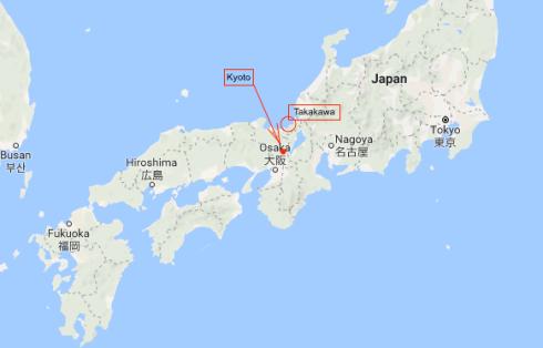 Takakawa map 1a