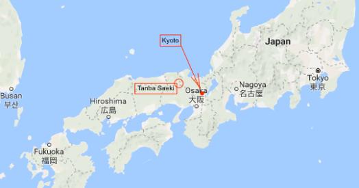 Tanba Saeki map 1a