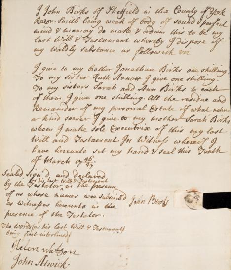 1747-'48 will john birks 1a2