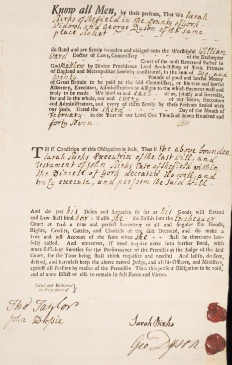 1747-'48 will john birks 1a4