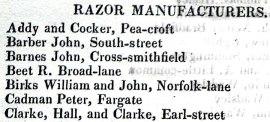 1817 Birks William and John, Norfolk-lane (Brownell)
