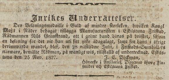 1827-12-04 Nils Grönstrand 1b